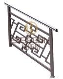 Pasamano modificado para requisitos particulares de gama alta de la escalera del acero inoxidable 304, sistema de pasamano