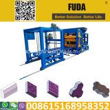 Fuda Qt4-15 pleine la vente de lignes de la machine automatique de bloc au Ghana et au Sénégal