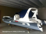 Liya 6.2m de Opblaasbare Boot van Hypalon Hull van de Rubberboot Semi-Rigid Opblaasbare