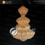 Large Golden delicious Classical Candlestick Lighting Hang in Hotel and House Decoration (OW103)