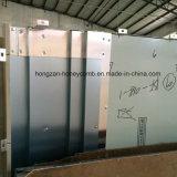 Алюминий твердых шпона для наружной стены оформлены