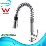 Rubinetto del miscelatore dell'acqua del dispersore di cucina del materiale da costruzione SUS304