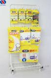 Supermarkt-bewegliche hängende Haken-kleine Gebrauchsgut-Bildschirmanzeige-Zahnstange