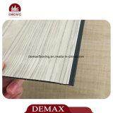 Plancher en bois utilisé commercial de tuile de vinyle de PVC de configuration