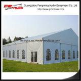 Semipermanentes Aluminium fabrizierter Zelt-Aufbau