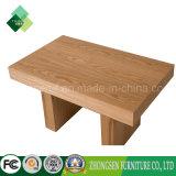 Mesa de centro simples da madeira contínua do estilo para a sala de visitas do hotel