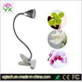 PAR LED 5W luz crecer con Clip.