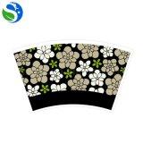 Ventilatore personalizzato rifornimento della tazza di carta di stile di marchio di formato del commercio all'ingrosso della fabbrica del fornitore per la bevanda fredda