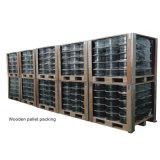 Fabrik produziertes Koaxialkabel RG6 mit Bc Leiter schwarzem Kurbelgehäuse-Belüftung (Ce/CPR/RoHS/ISO Bescheinigung)