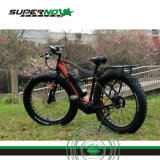 pneu gordo Ebike da bicicleta elétrica MEADOS DE da movimentação 350W