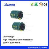 10V 330UF 105º C 4000hours de Elektrolytische Condensator van de Hoge Frequentie