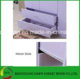 Drie Garderobe de van uitstekende kwaliteit van de Melamine MDF/Pb/Chipboard van Deuren