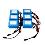 18650 packs batterie d'ion de lithium 12V 17.6ah pour le réverbère électrique