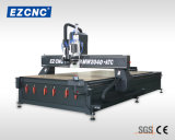 Ezletterの精密木工業は見たツール機能CNCの彫版機械(MW 2040ATC)を