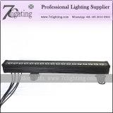 Rondella lineare esterna 18PCS 18watt della parete di Rgbwauv della barra del LED LED