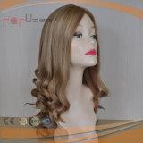 Peluca judía del pelo brasileño superior de seda hermoso de la piel (PPG-l-01387)