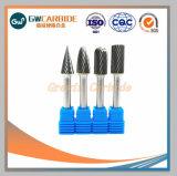 Руки инструменты детали 1/4 дюйма заусенцев вращающегося сита из карбида вольфрама хвостовика для внесения удобрений