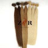 ブラジルのバージンのRemy Uの先端の人間の毛髪の拡張製品は卸し売りする