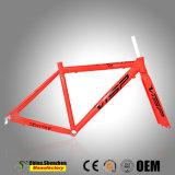 700c 46cm bis 52cm wahlweise freigestellter Aluminiumstraßen-Fahrrad-Rahmen