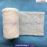 Bandage 100% élastique de Crepe de coton C102