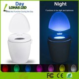 Refillable UNIVERSAL SYSTEM BUS 1W Toilet Night Light with IP65 Waterproof Sensor Motion in Darkness Only Fits Any Toilets