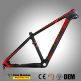 OEM Custom carbone Cadre de bicyclette Mountian T800 26inch MTB