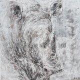 Métier animal d'art de peinture pour l'éléphant