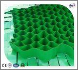 1mm-1.7mm Stärke HDPE/PP PlastikGeocells zur Steigung-Abnutzung-Steuerung