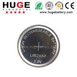 Batteria di ione di litio delle cellule Lir2450 3.6V del tasto con il prezzo di merce (LIR2450)