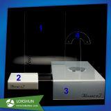 取り外し可能なアクリルの基礎ヘッドホーンの立場の表示ヘッドセットのホールダー