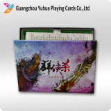 Jogo de cartão adulto do costume do cartão de jogo com logotipo