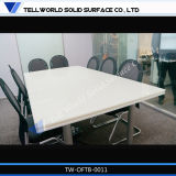 Tavolo di riunione di pietra artificiale della Tabella dell'ufficio di congresso per le forniture di ufficio