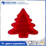 Weihnachtssilikon-Baum anpassen glühen Form