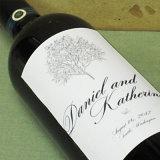 De Douane Afgedrukte Etiketten van uitstekende kwaliteit van de Wijn
