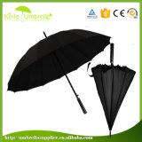 사업 골프 우산 긴 손잡이를 가진 튼튼한 차양 우산