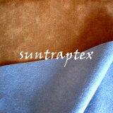 Тисненые велюр ткань клей с шероховатым трикотажные ткани для диван