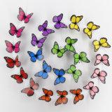 farfalla magnetica smontabile del decoratore 12PCS delle decalcomanie di arte di /Murals degli autoadesivi della parete del vinile della parete di Auto-Adesive 3D