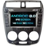 Witson Acht Androïde 8.0 Auto van de Kern DVD voor IPS van ROM van het Scherm van de Aanraking van ROM 1080P van de Stad van Honda 4G 32GB het Scherm