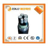 고품질 구리는 0.75-10 mm2 XLPE에 의하여 격리된 PVC에 의하여 넣어진 조종 케이블을 응어리를 뺀다