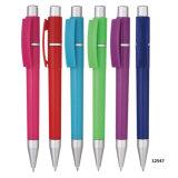 Шариковой ручки ABS Advertisting выдвиженческого изготовленный на заказ логоса пластичный с резиновый сжатием