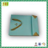 Sac à provisions de empaquetage personnalisé de cadeau promotionnel avec des chaînes de caractères de corde