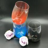 Ясности чашки поликарбоната кружка вина пластичной акриловая