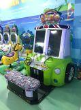 Macchina a gettoni del gioco di corsa di automobile dello schiaffo 3 del bambino dei capretti