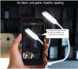 現代LED再充電可能なクリップ読書ランプ