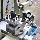 Torno Semi automático do manual do torno do metal da máquina do torno