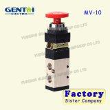 Хороший клапан Mv 2-Position кнопка Quanlity пневматический трехходовой ручной механически