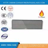 Vidrio clasificado aislado calor ULTRAVIOLETA anti teñido Tempered multiforme del fuego para Windows y las puertas