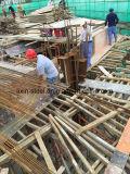 高層ビルのための鉄骨フレームの構造が付いている具体的なコンバイン