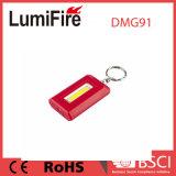 Indicatore luminoso promozionale di Keychain della casella della torcia elettrica della PANNOCCHIA LED del regalo mini