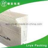 Sacchetto bianco del regalo della carta kraft, Sacchetti di acquisto per gli indumenti Proromotion